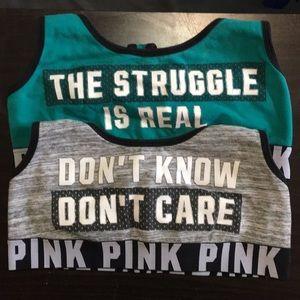 PINK by Victoria's Secret sports bra bundle